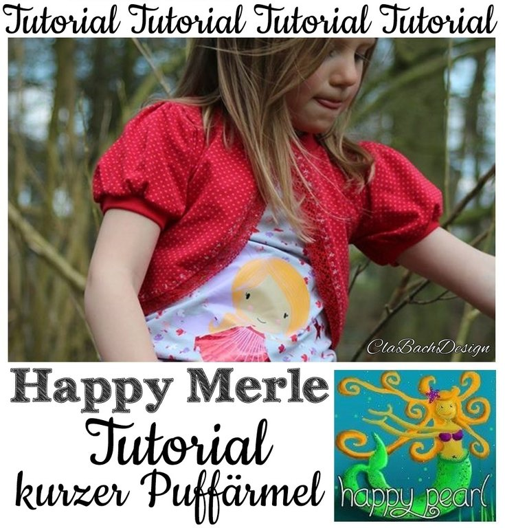 Tutorial Happy Merle Puffärmel