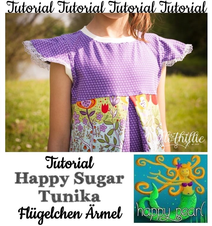 Tutorial Happy Sugar Tunika