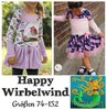 Happy Wirbelwind Tunika Kleid Gr 74-152