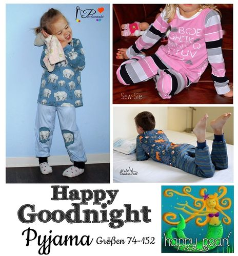 Happy Goodnight Pyjama Gr.74-152