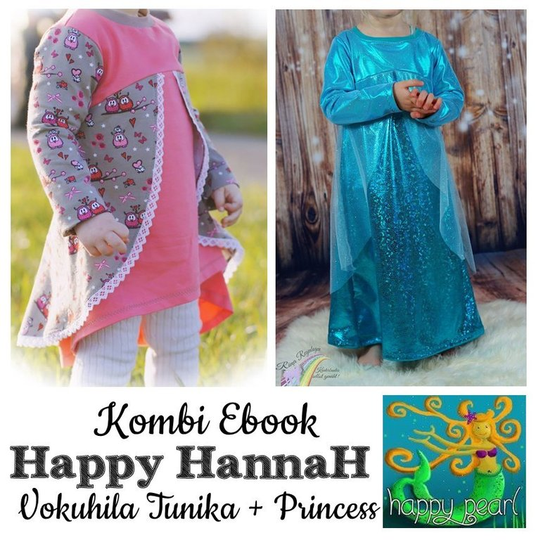 Kombi Ebook Happy HannaH + Princess