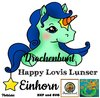 Happy Lovis Lunser Einhorn Plottdatei