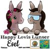 Happy Lovis Lunser Esel Plottdatei