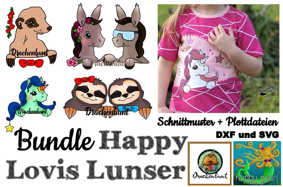 Happy Lovis Lunser Bundle Gr. 74-152 Shirt